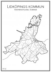 Affish över Lidköpings kommun