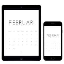 Gratiskalender för februari