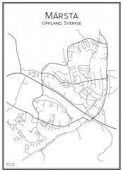 Affis över Märsta