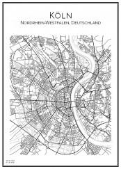 Affischen över Köln