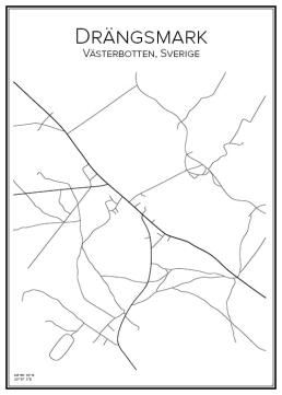 Stadskarta över Drängsmark