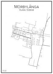 Stadskarta över Mörbylånga