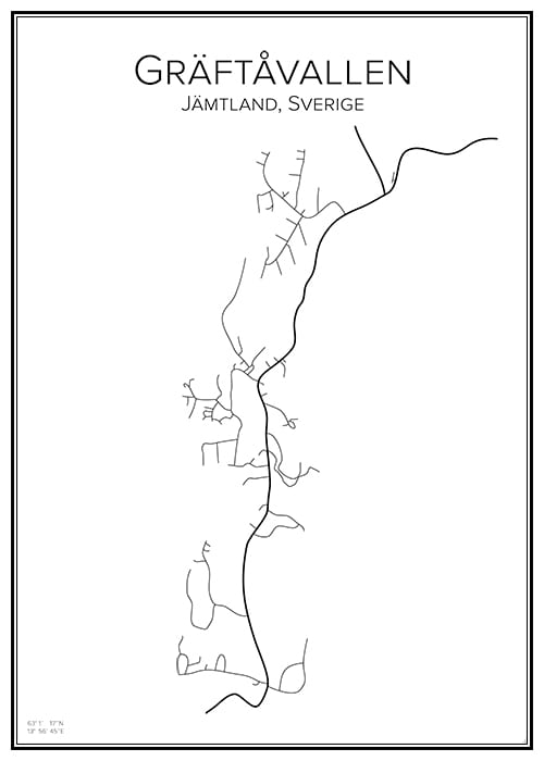 Stadskarta över Gräftåvallen