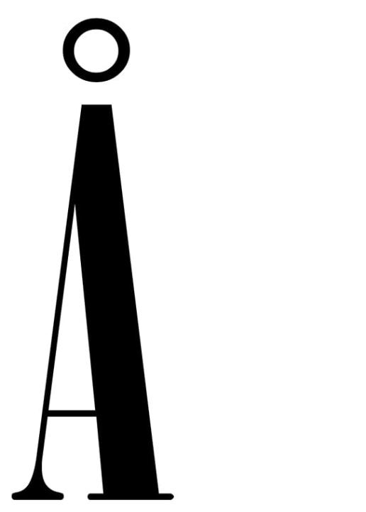 Poster med bokstaven Å