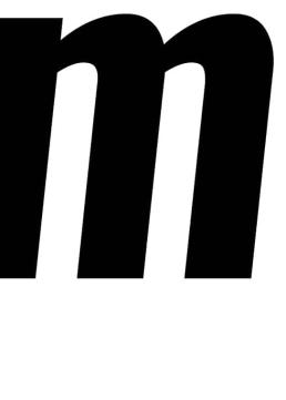 Poster med bokstaven M