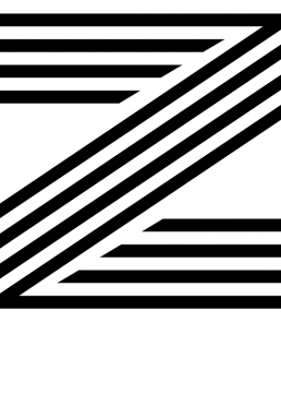 Poster med bokstaven Z