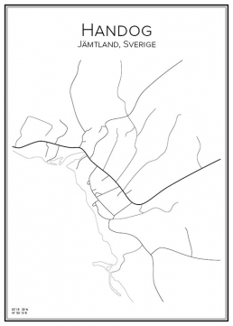 Stadskarta över Handog