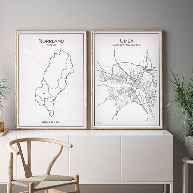 Karta Umeå